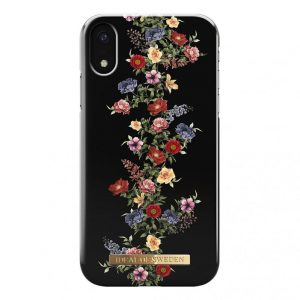 IDeal Fashion Case for iPhone XR - Dark Floral