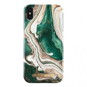 IDeal Fashion Case for iPhone XS Max - Golden Jade Marble