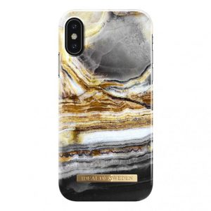 IDeal Fashion Case for iPhone X & XS - Outer Space Agate
