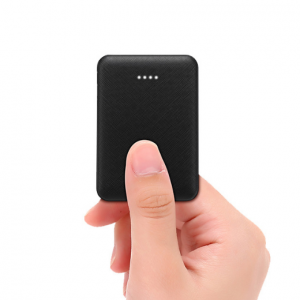 SiGN Ultra-thin Powerbank 5000mAh - Svart