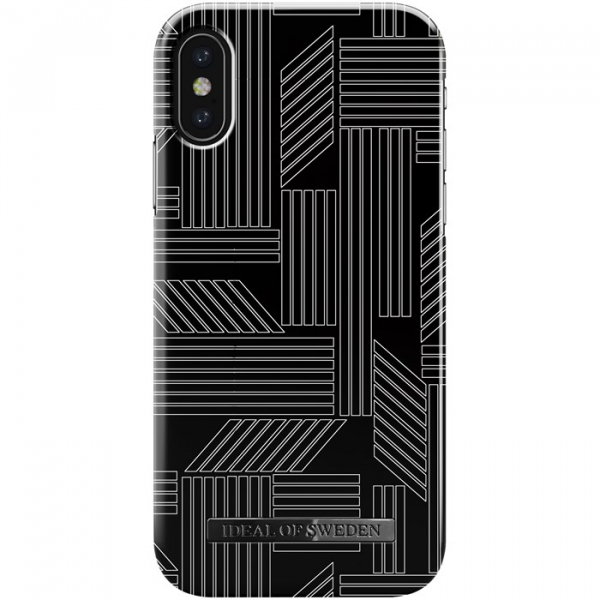 iDeal of Sweden Fashion Case iPhone Xs/X - geometric puzzle