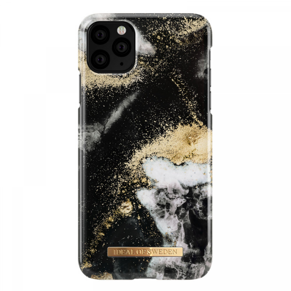 IoS black galaxy marble deksel 11proMax/XsMax