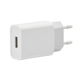 SiGN Vegglader for iPhone, iPad, Android 1xUSB-A, 2.4A Hvit
